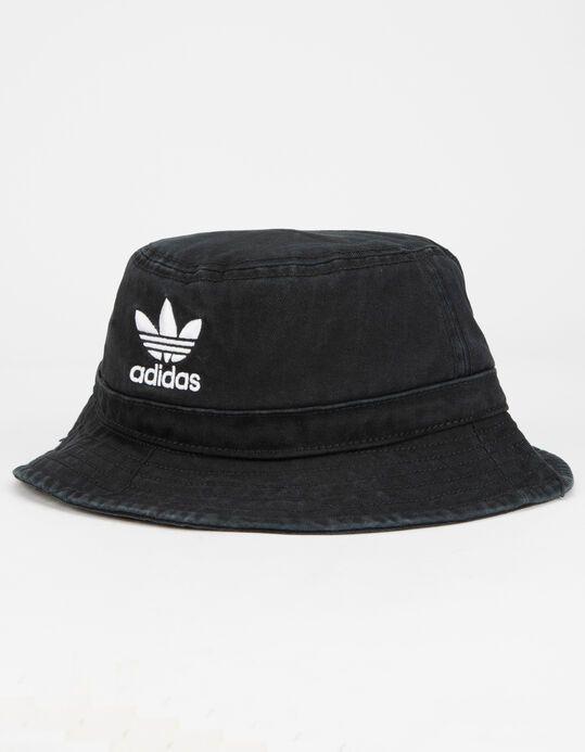 Adidas Originals Washed Mens Bucket Hat Blkwh Cl5193 Bucket Hat Fashion Hats For Men Mens Bucket Hats