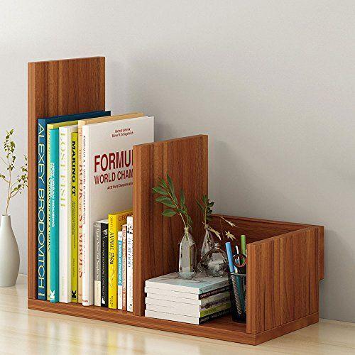 Wooden Multifunction Adjustable Desktop Organizer Desktop Organiser Office Storage Rack Adjustable Wood Di Bookshelf Storage Wooden Bookcase Adjustable Desktop