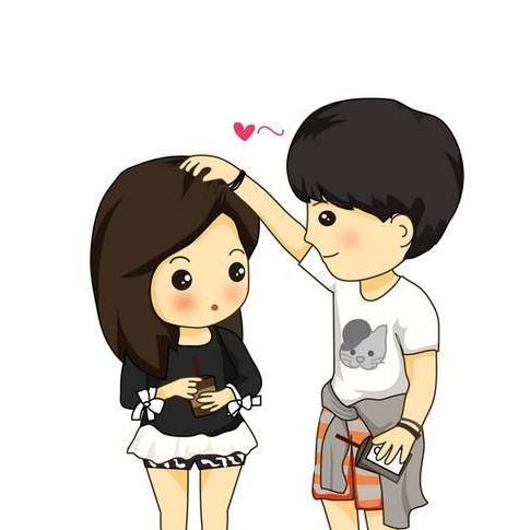 From Facebook Fanspage Walkontheside Credit To Walkontheside He Gently Touching Ruffl Cute Love Cartoons Cute Couple Cartoon Cute Couple Pictures Cartoon