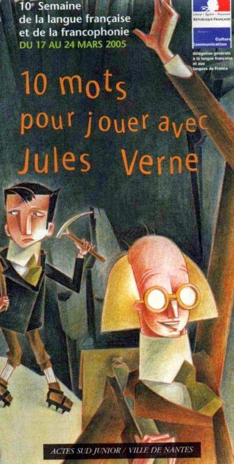 10 mots pour Jouer avec Jules Verne. Dis-moi dix mots.: