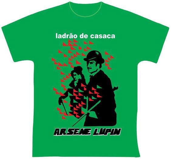 knupSilk - ESTAMPARIA/SERIGRAFIA: Arsene Lupin - Ladrão de Casaca