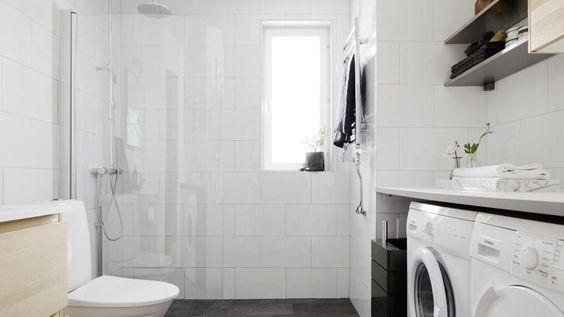 Modernt badrum.: