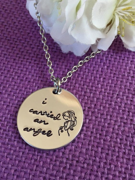 Miscarriage Necklace  Miscarriage Jewelry  I by DesignsByTeraW