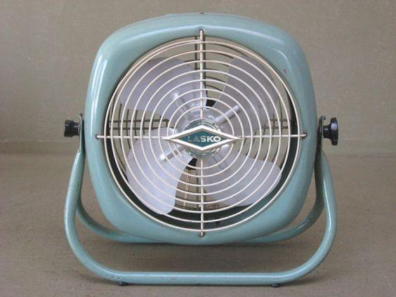 Dimension Of A Floor Fan : Antique vintage lasko electric round industrial floor fan