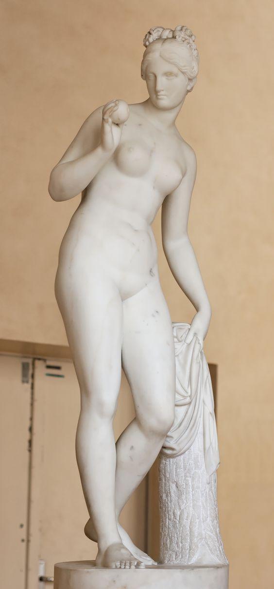 Venus con manzana de Bertel Thorvaldsen (c. 1805)