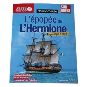 Au sommaire : l'histoire de L'Hermione et de La Fayette, le projet, le chantier, l'équipage, un reportage à bord, le voyage transatlantique.