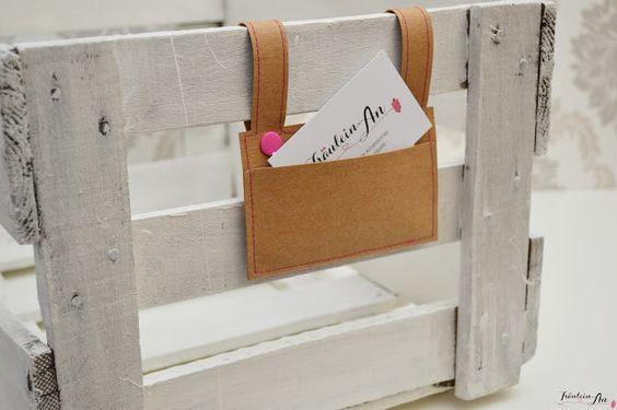 DIY | Visitenkartenhalter aus SnapPap