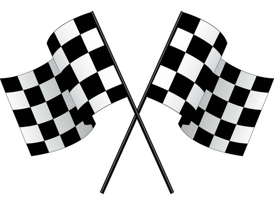 Racing Flags Clip Art - Findyourduck