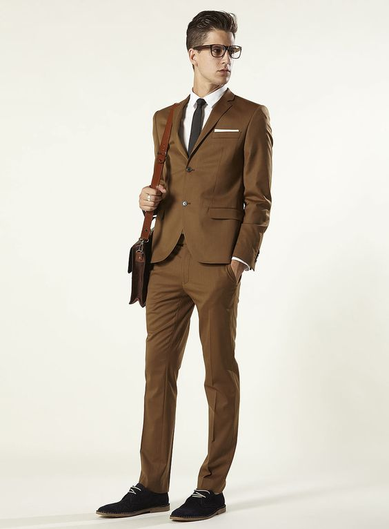 Topman - Fudge Brown Skinny Suit Currently unavailable… I must