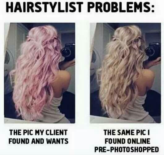 Hairstylist Problems