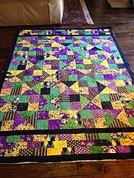 The Carnival (Mardi Gras) Alter Ego Quilt: