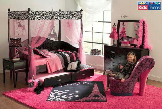 Hermoso cuarto de ni a piesas de nenas pinterest - Cuartos de nina decorados ...