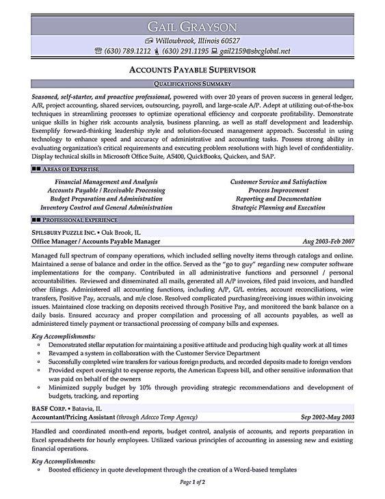 mis costing expert resume resume sample pinterest