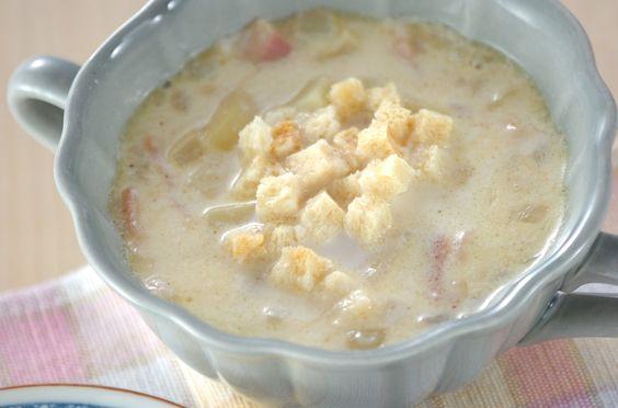 ジャガイモのミルクスープのレシピ・作り方 - 簡単プロの料理レシピ | E・レシピ