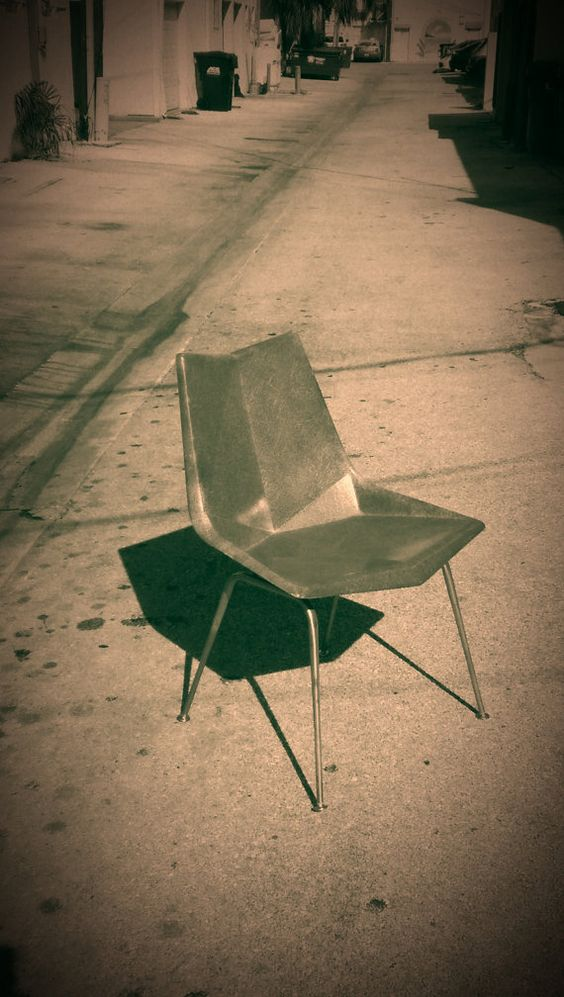 Vintage Paul McCobb Origami chair by PREVIEWMOD on Etsy 675.00