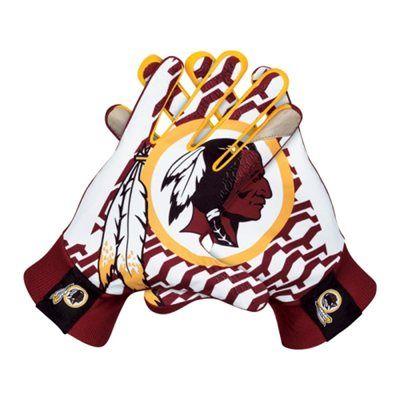 Nike Washington Redskins Stadium Gloves - Burgundy | Washington ...