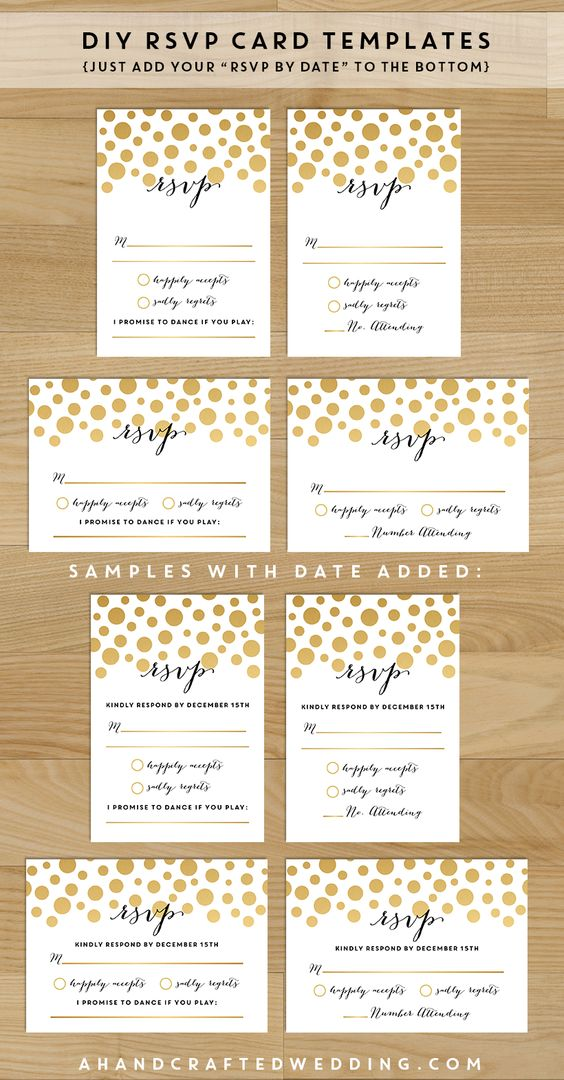 Save money on your wedding invites with these printable templates you can customize yourself! #wedding #printables
