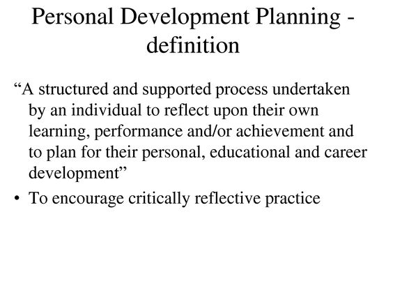 reflective account on personal development Reflection - reflective thinking and writing - is an important part of university life  and work  self improvement: learning from experiences and wanting to  improve some area of your life empowerment:  personal account, impersonal  account.