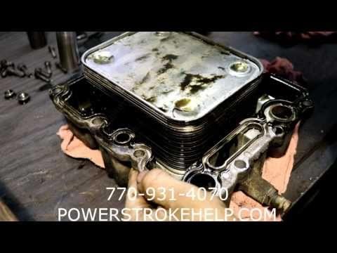 6.0 Diesel Powerstroke Factory Replacement Oil Cooler