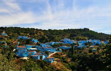 Juzcar, aka Smurf Village, Malaga