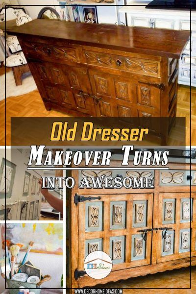 Old Dresser Makeover Turns Into A Stunning Piece Of Furniture