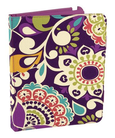 Look what I found on #zulily! Plum Crazy Tablet Folio for iPad 2 #zulilyfinds