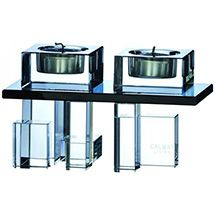 Galway Living DO72 Deco Double Votive Candle Holder