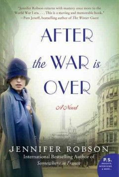 """After the War is Over by Jennifer Robson   Katy H. says: """"Romance and rebuilding in post-war Liverpool-- you'll be cheering for Charlotte Brown by the end!"""""""