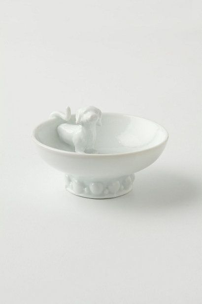 Sidekick Show-Off Ring Dish....anthropologie brilliant with knick-knacks.  This will be way cute in my bathroom plus it looks like my puppy