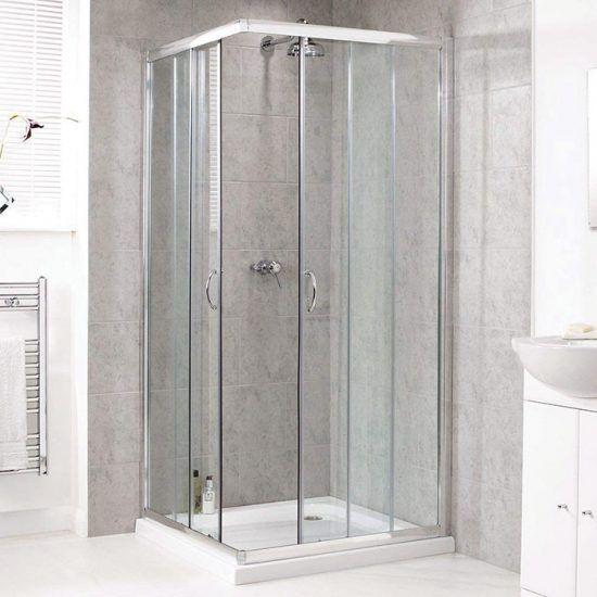 Corner Entry 900 X 900 Right Price Tiles Shower Cubicles Shower Enclosure Shower Doors
