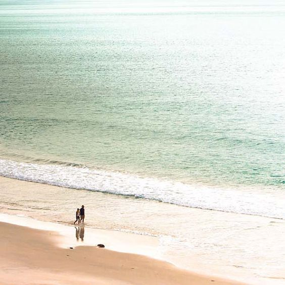 Just the Two of Us beach photography print by mylittlepixels via etsy