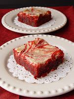 Red Velvet Cream Cheese Brownies  Sinful Yumminess!