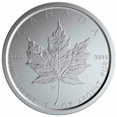 2020 W Canada 1 Oz Burnished Silver Maple Leaf 5 Coin Gem Bu Sku59501 Silver Bullion Coins Silver Bullion Silver Maple Leaf