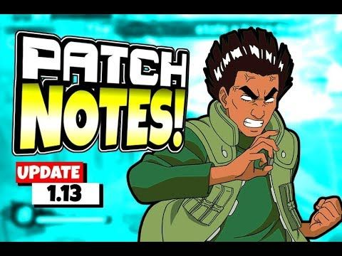 foto de Shinobi Striker Update 1.13 Patch Notes Video (Might Guy DLC) in ...