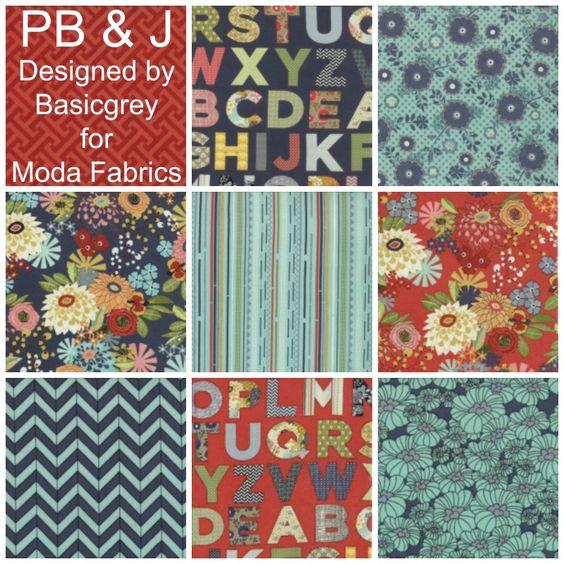 Pb amp j designed by basicgrey for moda fabrics