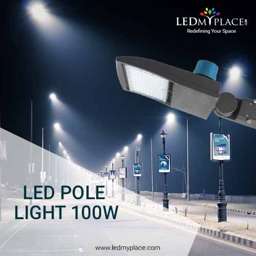 These Led Pole Lights Are The Ideal Replacement For Traditional Incandescent Metal Halide Bulbs In Ter Led Outdoor Lighting Led Flood Lights Led Strip Lighting