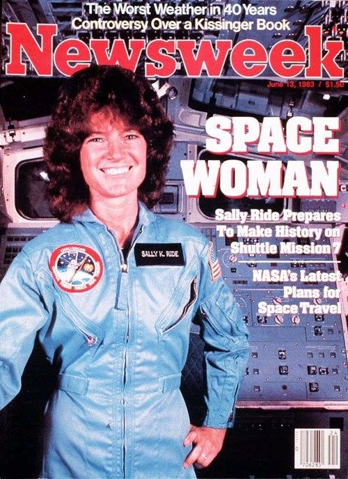 nwkarchivist:  30 Years Ago Sally Ride Blasts Into Space  History  From a systems-engineering standpoint, it is easy to identify the point where Sally K. Ride began to leave the rest of the world behind. A flow chart of her life would show the crucial decision coming one day in 1977, when — as a 25-year-old astrophysicist winding up her doctoral work at Stanford University — she spotted an announcement in the campus newspaper about openings in the astronaut program, a career she had never…