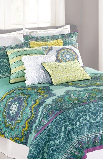 Nanette Lepore Villa 'Paisley Medallion' Bedding Collection  available at #Nordstrom