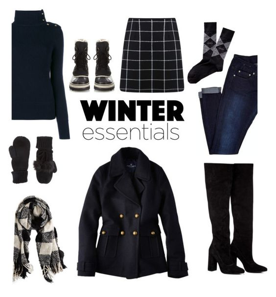 """Winter Essentials"" by the-kwas ❤ liked on Polyvore featuring American Eagle Outfitters, Anouki, Chloé, Accessorize, Miss Selfridge and SOREL"