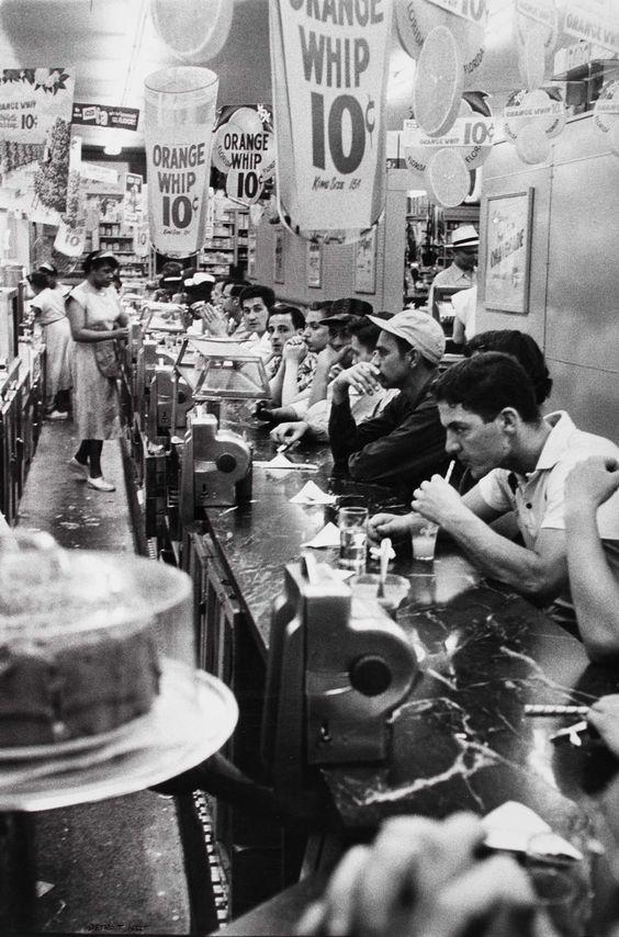 Lunch dans un #american #diner datant de 1955 ! us-connection.com #usconnection #vintage #old #retro