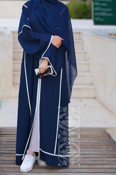 Sport abaya Dubai style www.annahariri.com  Islamic clothing online