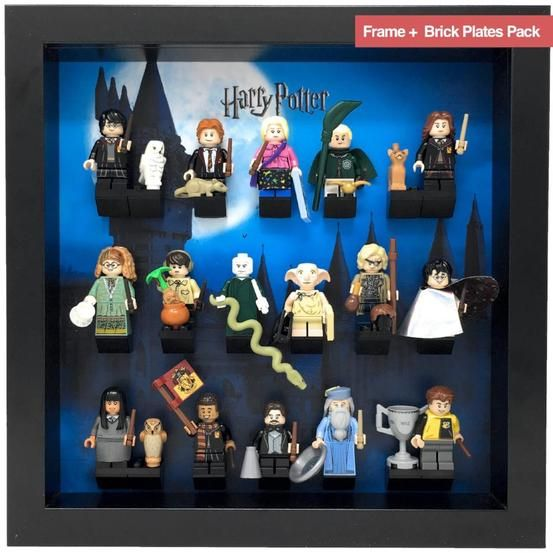 Frame For Lego Harry Potter Series 1 Minifigures Lego Display Lego Minifigure Display Harry Potter Display