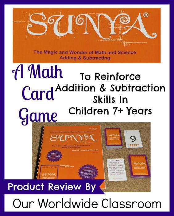 Sunya Math Game ~ Review