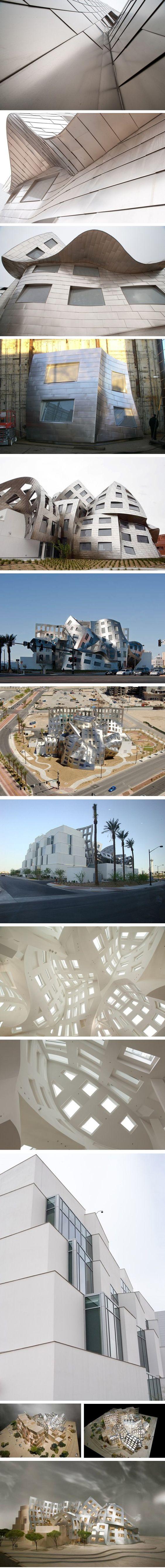 ARCHITECTURE >>> Lou Ruvo Brain Institute par Frank Gehry - Journal du Design