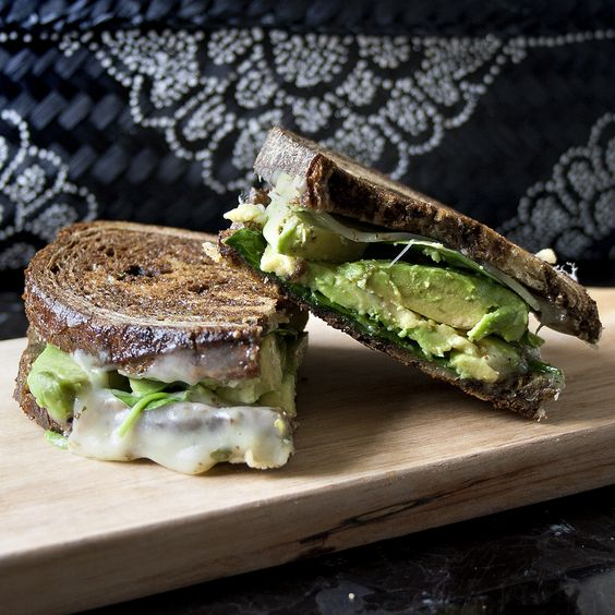 Avocado grilled cheeses, Grilled cheeses and Avocado on Pinterest