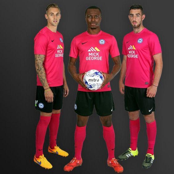 Nice Day Sports: Peterborough United 2015-16 Nike Away Kit Jersey /...