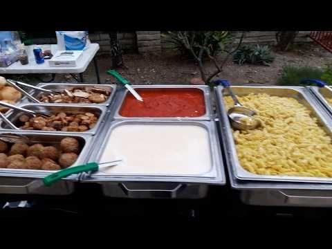 Italian Pasta Bar Catering Menu Pasta Bar Wedding Buffet Food