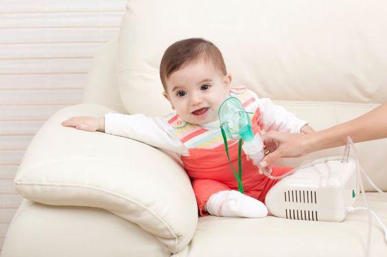 Hat das Baby Husten, ist inhalieren eine sinnvolle Möglichkeit, den Schleim zu lösen