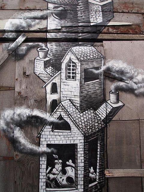 Phlegm The Passage New Mural In Sheffield Street Artists Best