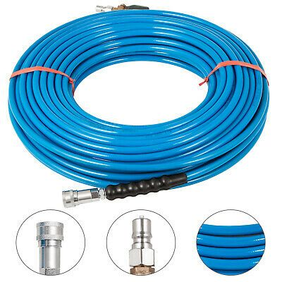 Sponsored Ebay 1 4 150ft Pressure Washer Hose W Valve Steel Cleaning Cold Water Replacement Washer Hoses Pressure Washer Carpet Solutions